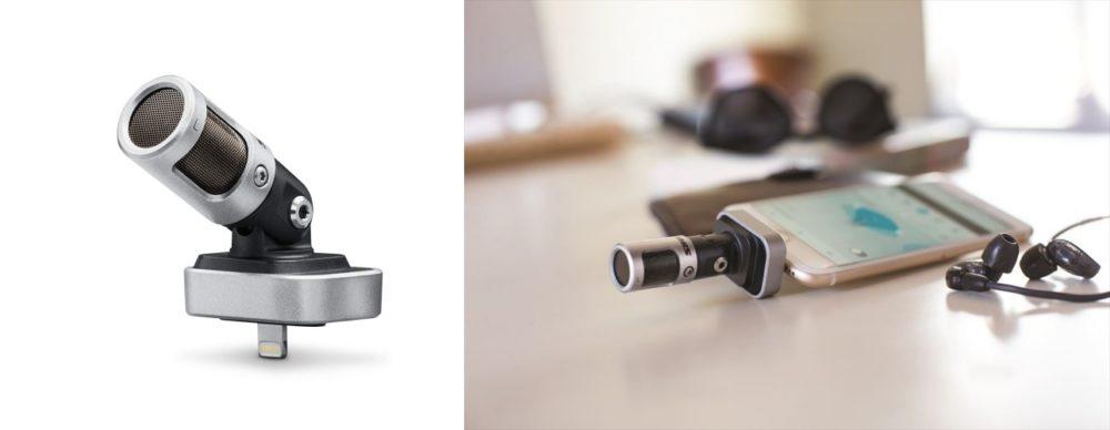 シュアー iPhone用マイクロフォン